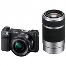 Фотоаппарат Sony Alpha NEX-6K Kit 18-55 mm Black (гарантия Sony)