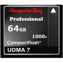 Карта памяти CF KOMPUTERBAY 64gb 1000x 150Mb/s (RAW)