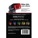 Фильтры HONL PHOTO HONL-FILTER3 Filter Kit CE (Bright Red, Just Blue, Moss Green, Yellow, Heavy Frost)