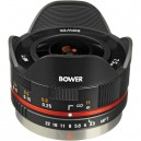 Объектив Bower 7.5mm f/3.5 Fisheye Micro 4/3 (черный)
