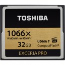 Карта памяти Toshiba 32GB CompactFlash Exceria Pro High Speed 1066x UDMA