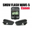 Синхронизатор SMDV Flash Wave-5 TTL 2.4GHz для Canon (до 250м, TTL, M)