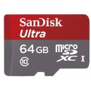 SanDisk Ultra microSDXC Class 10 UHS-I 48MB/s 64GB + SD adapter